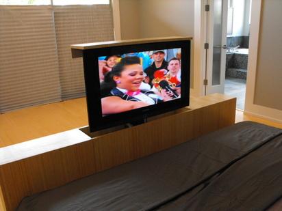 Astounding Tv Lift Furniture Eddie Myers Design Inzonedesignstudio Interior Chair Design Inzonedesignstudiocom