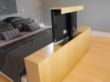 tv lift furniture eddie myers design. Black Bedroom Furniture Sets. Home Design Ideas